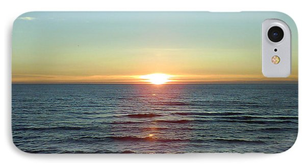 Sunset Over Sea Phone Case by Gordon Auld