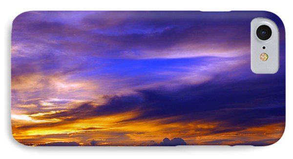 Sunset Over Sea Phone Case by Kaleidoscopik Photography