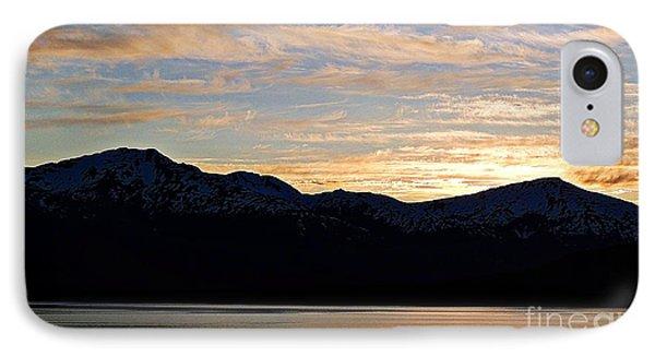 Sunset Over Skagway Ak IPhone Case by Gena Weiser