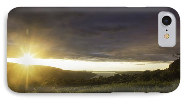 Sunset Over Skaneateles IPhone Case
