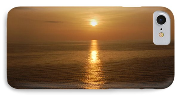 Sunset Over The Adriatic IPhone Case by Linda Prewer