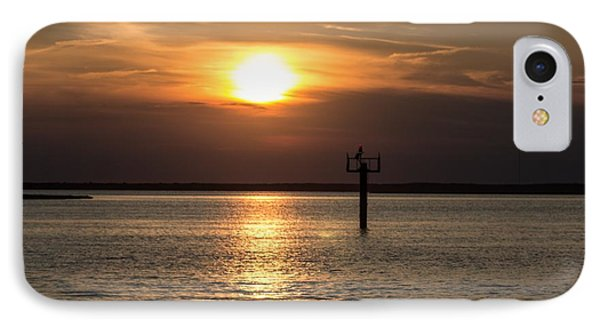Sunset Over The Bay IPhone Case by Nance Larson