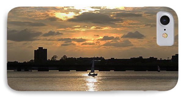 Sunset Over The Charles River IPhone Case by Toby McGuire