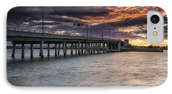Sunset Over The Drawbridge IPhone Case by Fran Gallogly
