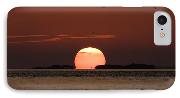 Sunset Over The Keys IPhone Case by Adam Romanowicz