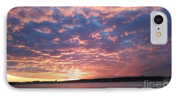 Sunset Over The Narrows Waterway IPhone Case