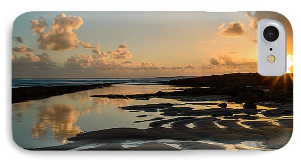 Sunset Over The Ocean IIi Phone Case by Marco Oliveira