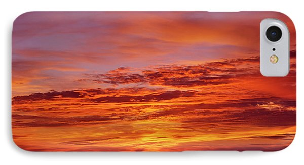 Sunset Over The Pacific Ocean From Cape IPhone Case