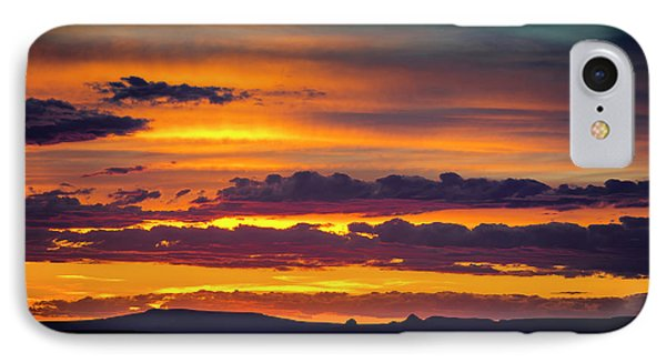Sunset Over The Painted Desert IPhone Case