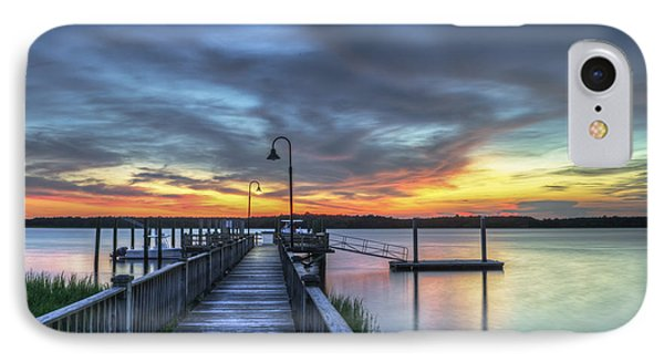 Sunset Over The River IPhone Case