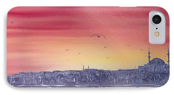 Sunset Over The Sea Of Marmar IPhone Case