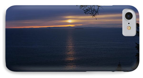 Sunset Over The Sea, Strait Of Juan De IPhone Case