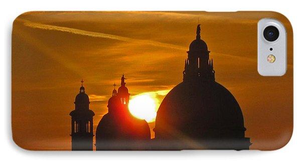 Sunset Over Venice IPhone Case by Marguerita Tan