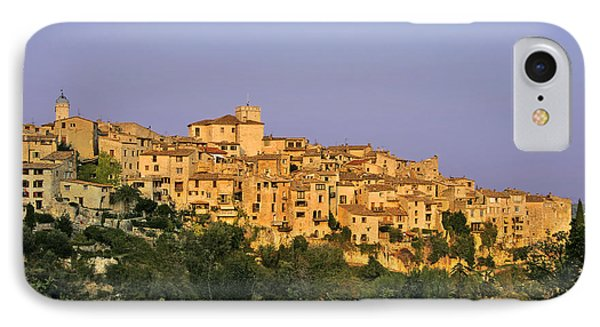 Sunset Over Vieux Nice - Old Town - France IPhone Case by Christine Till
