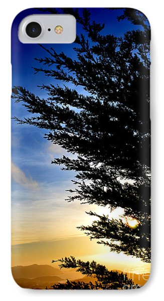 Sunset Overlooking Pacifica Ca Iv Phone Case by Jim Fitzpatrick