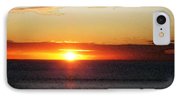 Sunset Painting - Orange Glow IPhone Case by Sharon Cummings
