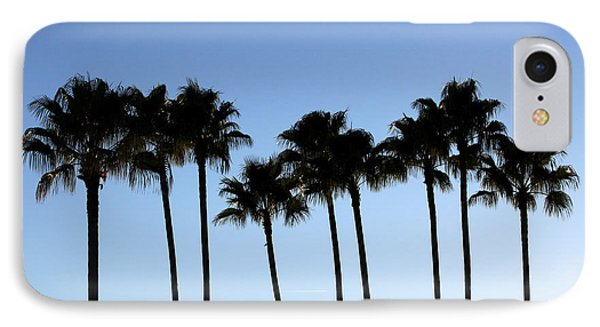 Sunset Palms IPhone Case by Chris Thomas