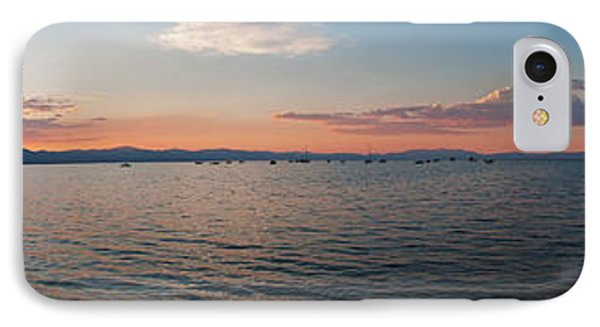 Sunset Panorama At Lake Tahoe California IPhone Case