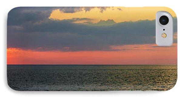 Sunset Panorama Over Atlantic Ocean IPhone Case by Elena Elisseeva