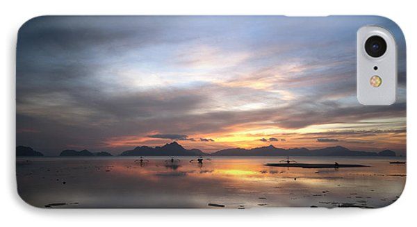 Sunset Philippines IPhone Case by John Swartz