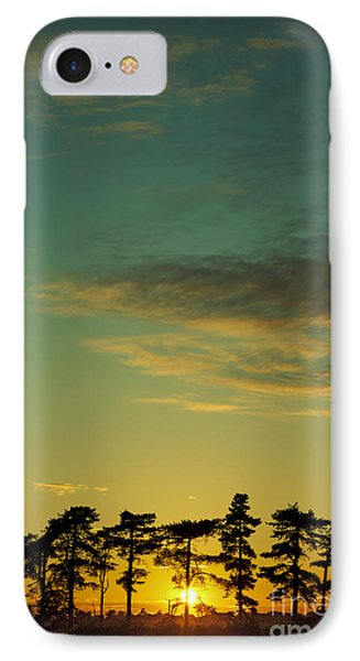 Sunset Pines IPhone Case by Paul Grand