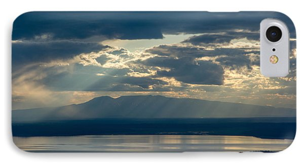Sunset Rays Over Mount Susitna IPhone Case