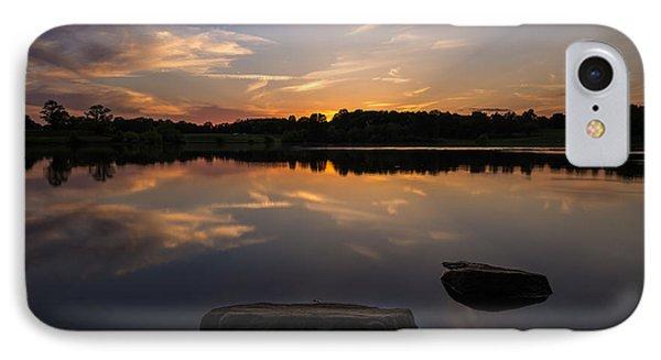 Sunset Reflecting IPhone Case