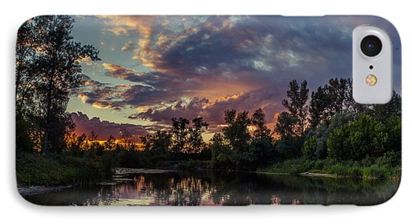 Sunset Reflections IPhone Case by Dmytro Korol