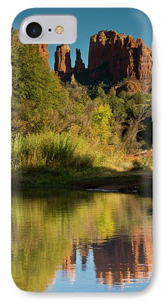 Sunset, Reflections, Oak Crek IPhone Case
