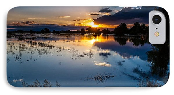 Sunset Reflections Phone Case by Steven Reed