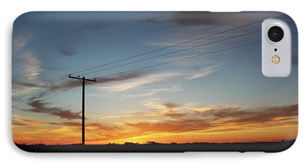 IPhone Case featuring the photograph Sunset by Ryan Crouse