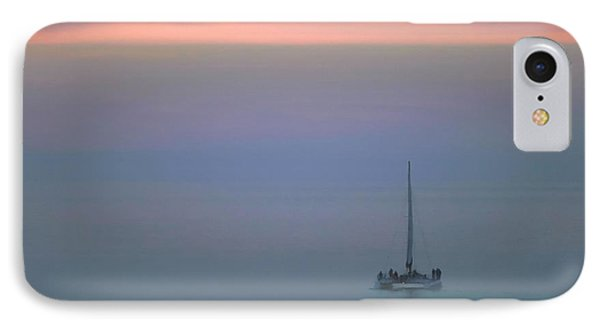 Sunset Sail IPhone Case by Clare VanderVeen