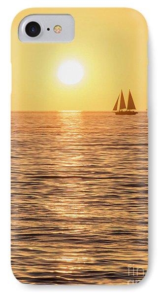 Sunset Sail IPhone Case by Jon Neidert