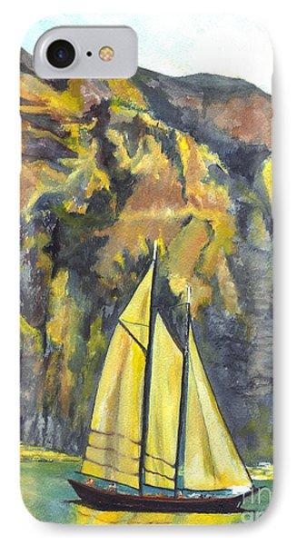 Sunset Sail On Lake Garda Italy Phone Case by Carol Wisniewski