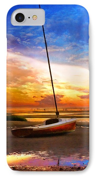 IPhone Case featuring the photograph Sunset Sail by Tammy Wetzel