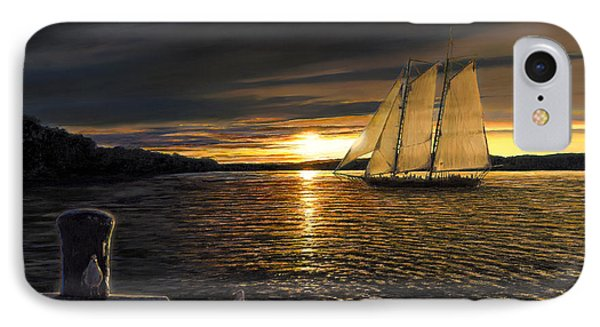 Sunset Sails IPhone Case by Doug Kreuger