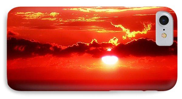 Sunset Sea IPhone Case