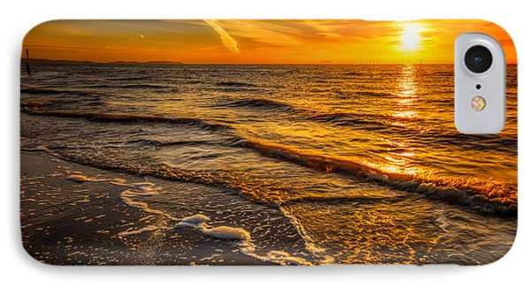 Sunset Seascape Phone Case by Adrian Evans