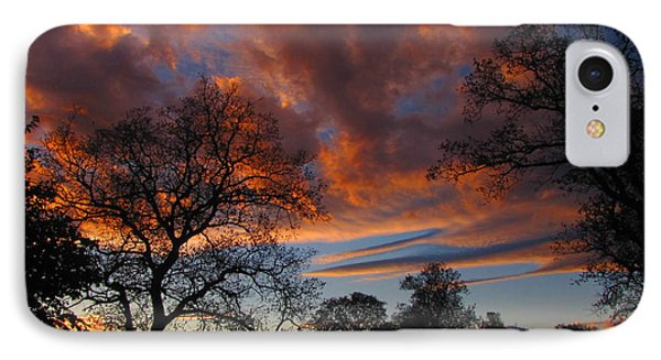Sunset September 24 2013 IPhone Case by Joyce Dickens