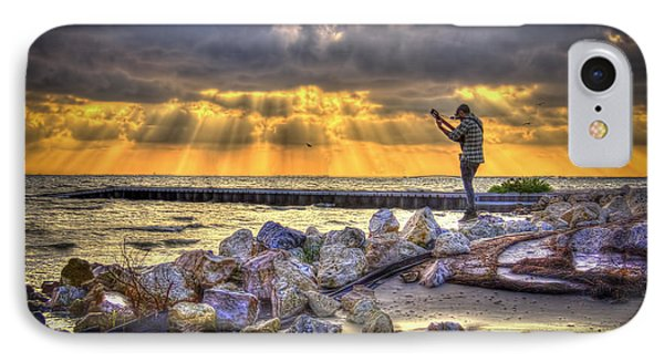 Sunset Serenade  IPhone Case by Marvin Spates