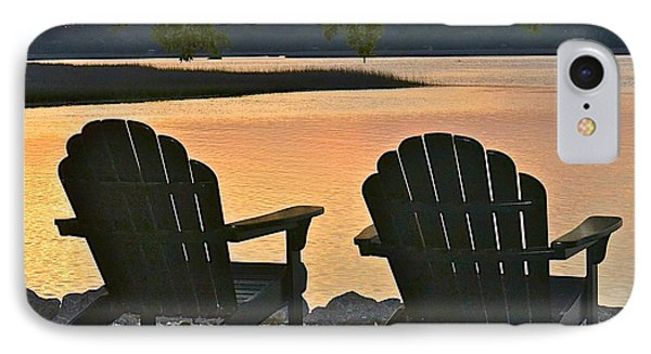 IPhone Case featuring the photograph Sunset Serenity by Carol  Bradley