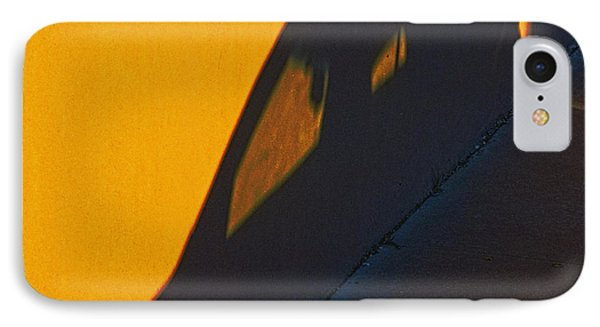 IPhone Case featuring the photograph Sunset Shadow Car by John Hansen