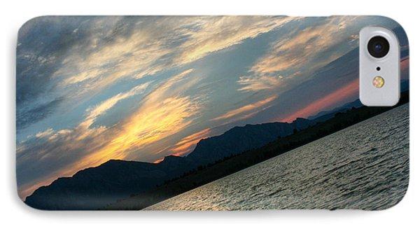 Sunset Silhouette Boulder Colorado IPhone Case