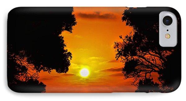 Sunset Silhouette By Diana Sainz Phone Case by Diana Sainz