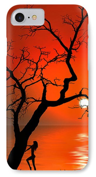 Sunset Silhouettes Phone Case by Igor Zenin