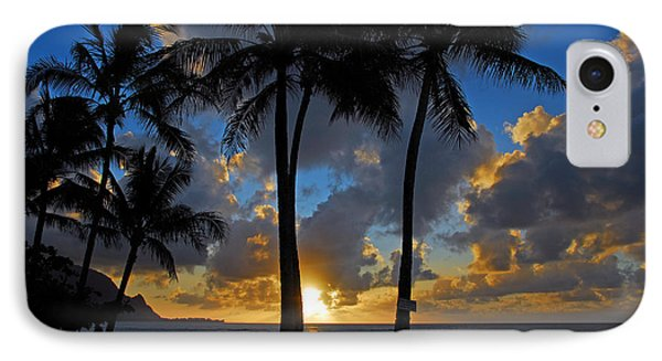 IPhone Case featuring the photograph Sunset Silhouettes by Lynn Bauer