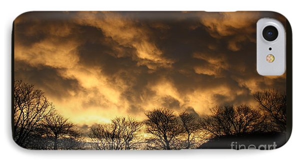 Sunset Silhouettes IPhone Case by Nareeta Martin