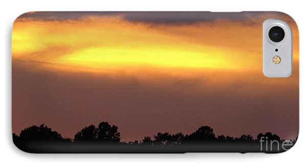 Sunset Sky IPhone Case by Raymond Earley