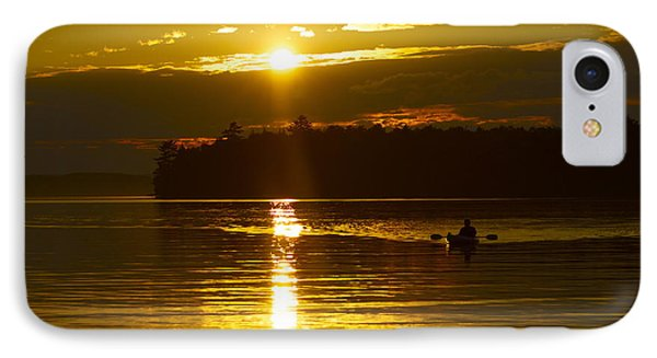 IPhone Case featuring the photograph Sunset Solitude II by Alice Mainville