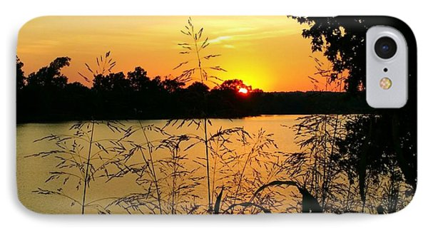 Sunset Solitude  IPhone Case by Pamela Morgan